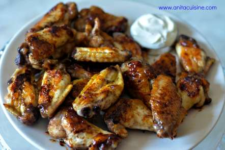 GRILLED HONEY HOT WINGS1